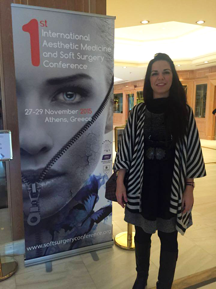 1st International Aesthetic Medicine and Soft Surgery Conference.27-29 November 2015, Athens, Greece