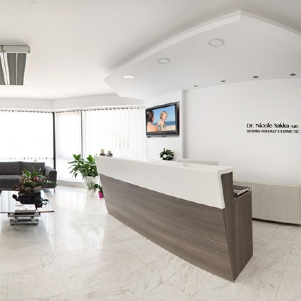 Clinic sakka dermatologist for Dermatology clinic interior design